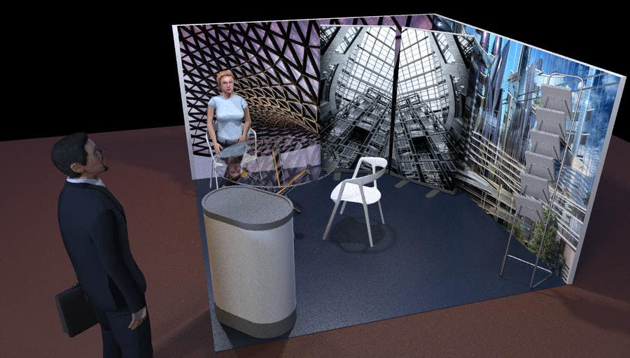 Exhibition Stand Design Competition : Design a exhibition stand freelancer