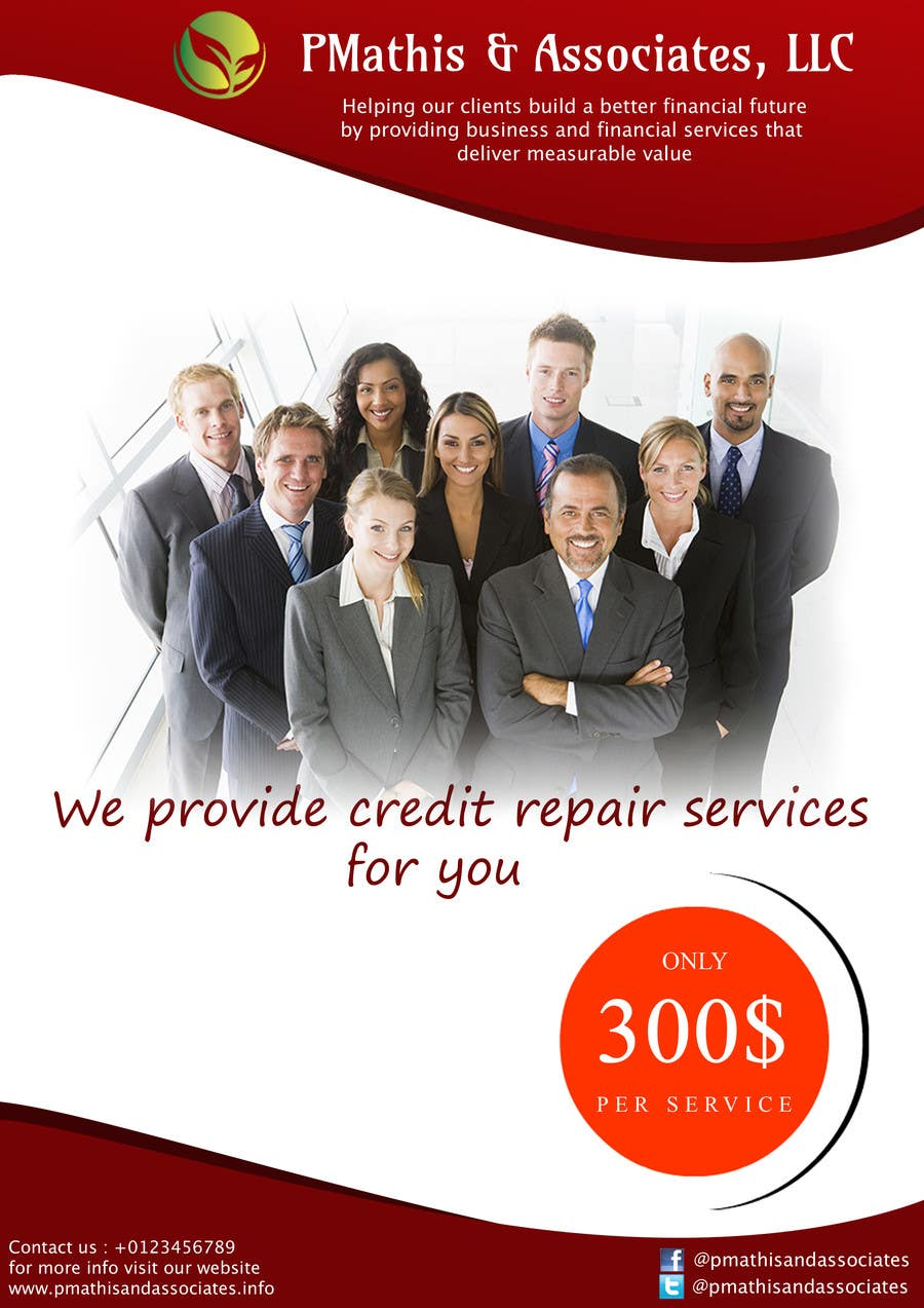 #15 for Design a Flyer for my Credit Repair Company by icaninfosoft