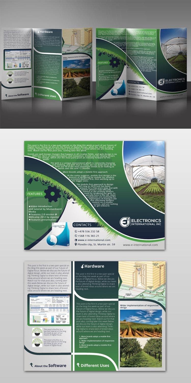 Kilpailutyö #18 kilpailussa Tri Fold Brochure Design