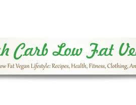 #10 para Design a Banner for highcarblowfatvegan.com por FlatDesigners