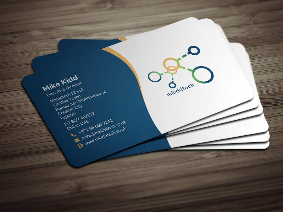 Entry 20 By Bikashbapon For Design A Business Card Template For