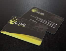 #40 for Design some Business Cards for CASA BELLA by imeldasahol