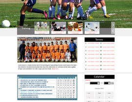 #17 for Create a Wordpress Template for our Youth Soccer Team Pages by web92