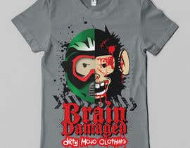 #20 para T-Shirt Design: Brain Damaged por Franstyas