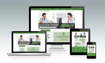 #12 untuk New a new Awesome Looking Website Layout for IT Management Company oleh srjayathilaka94