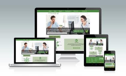 #14 untuk New a new Awesome Looking Website Layout for IT Management Company oleh srjayathilaka94
