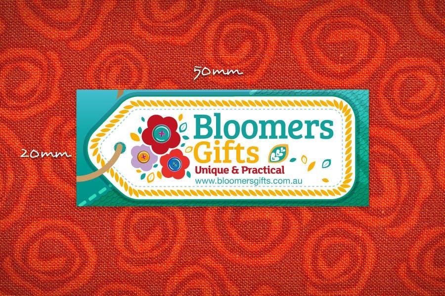 Kilpailutyö #                                        111                                      kilpailussa                                         Graphic design work for Bloomers Gifts
