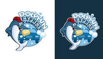 Logo Design for Dolphin Express Car Wash için Graphic Design140 No.lu Yarışma Girdisi