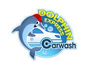 Logo Design for Dolphin Express Car Wash için Graphic Design186 No.lu Yarışma Girdisi
