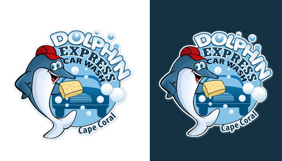Contest Entry #                                        201                                      for                                         Logo Design for Dolphin Express Car Wash