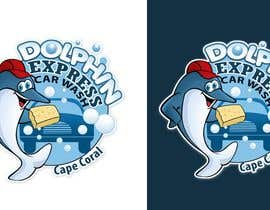 #201 para Logo Design for Dolphin Express Car Wash de pinky