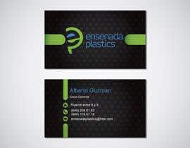 #20 para Business cards Ensenada Plastics por ro2020