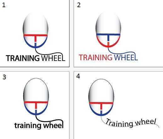 Konkurrenceindlæg #336 for Logo Design for TrainingWheel