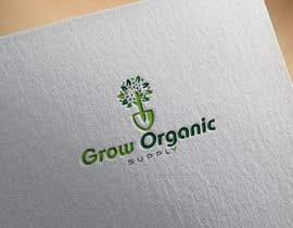 #283 per Grow Organic Supply - logo creation da RezwanStudio