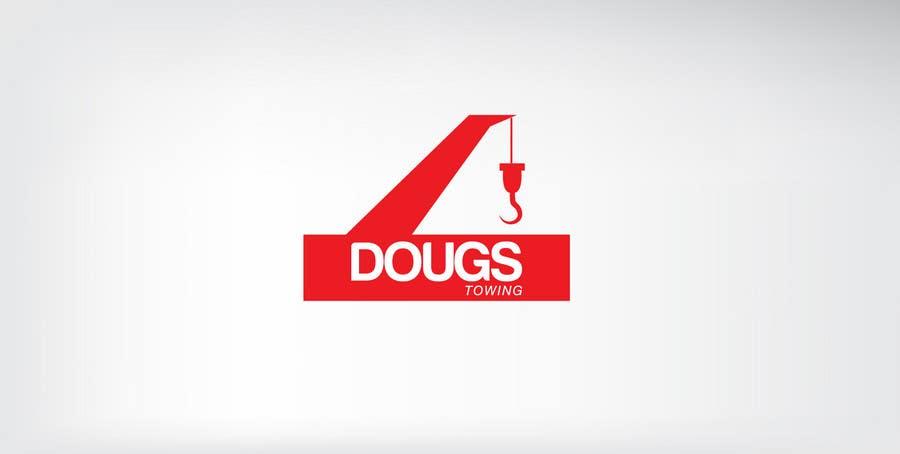 Penyertaan Peraduan #23 untuk Logo Design for Dougs Towing