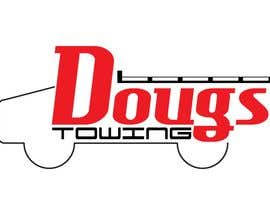 #73 para Logo Design for Dougs Towing de zsipes