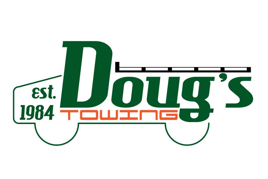 Contest Entry #45 for Logo Design for Dougs Towing