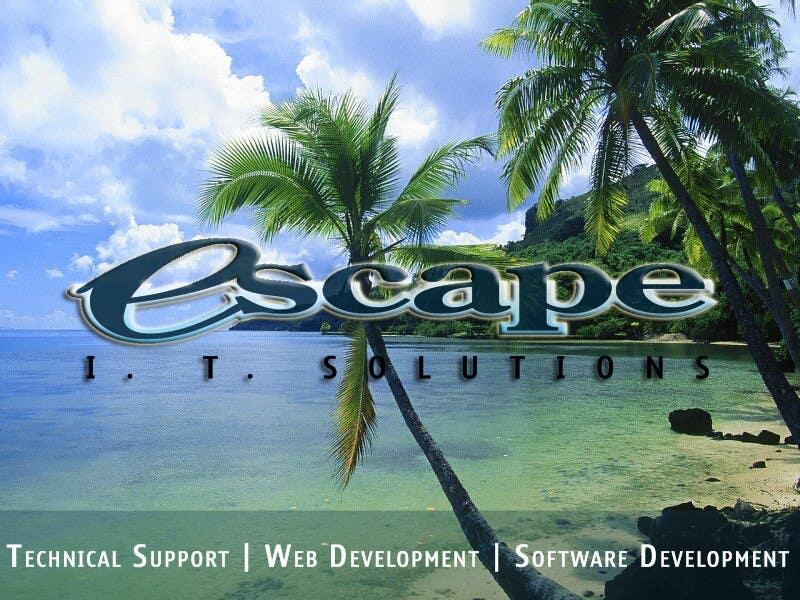 Kilpailutyö #                                        27                                      kilpailussa                                         Graphic Design for Escape I.T Solutions