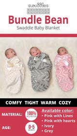 #12 para Retail Store Poster for Baby Swaddle de maidang34