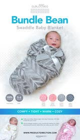 #14 para Retail Store Poster for Baby Swaddle de Nadasol