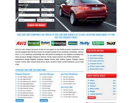 nº 70 pour Website Design for Avid Car Hire par tania06