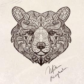 #2 for Handrawn Artistic Bear (head only) Design by nugrahanugraha