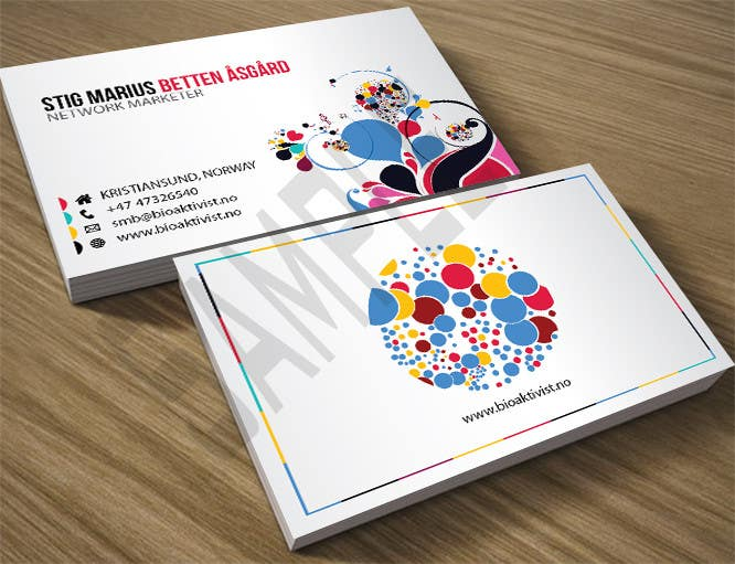Contest Entry 60 For Awesome Creative Personal Business Cards
