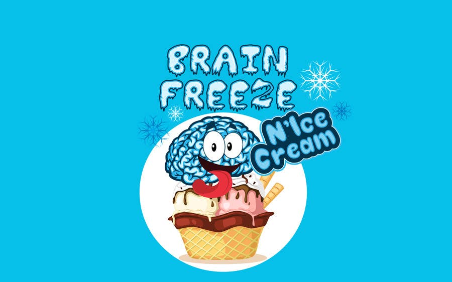 #42 for Develop a Sign for Brain Freeze NiceCream by BigBangPro