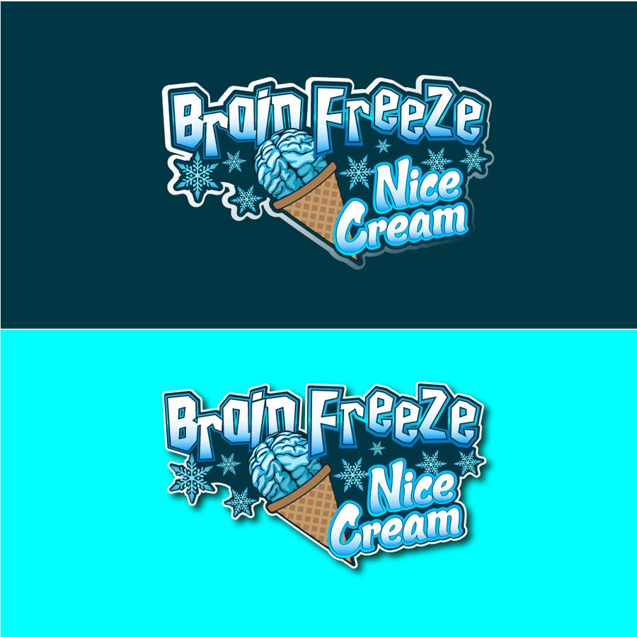 #11 for Develop a Sign for Brain Freeze NiceCream by Plastmass