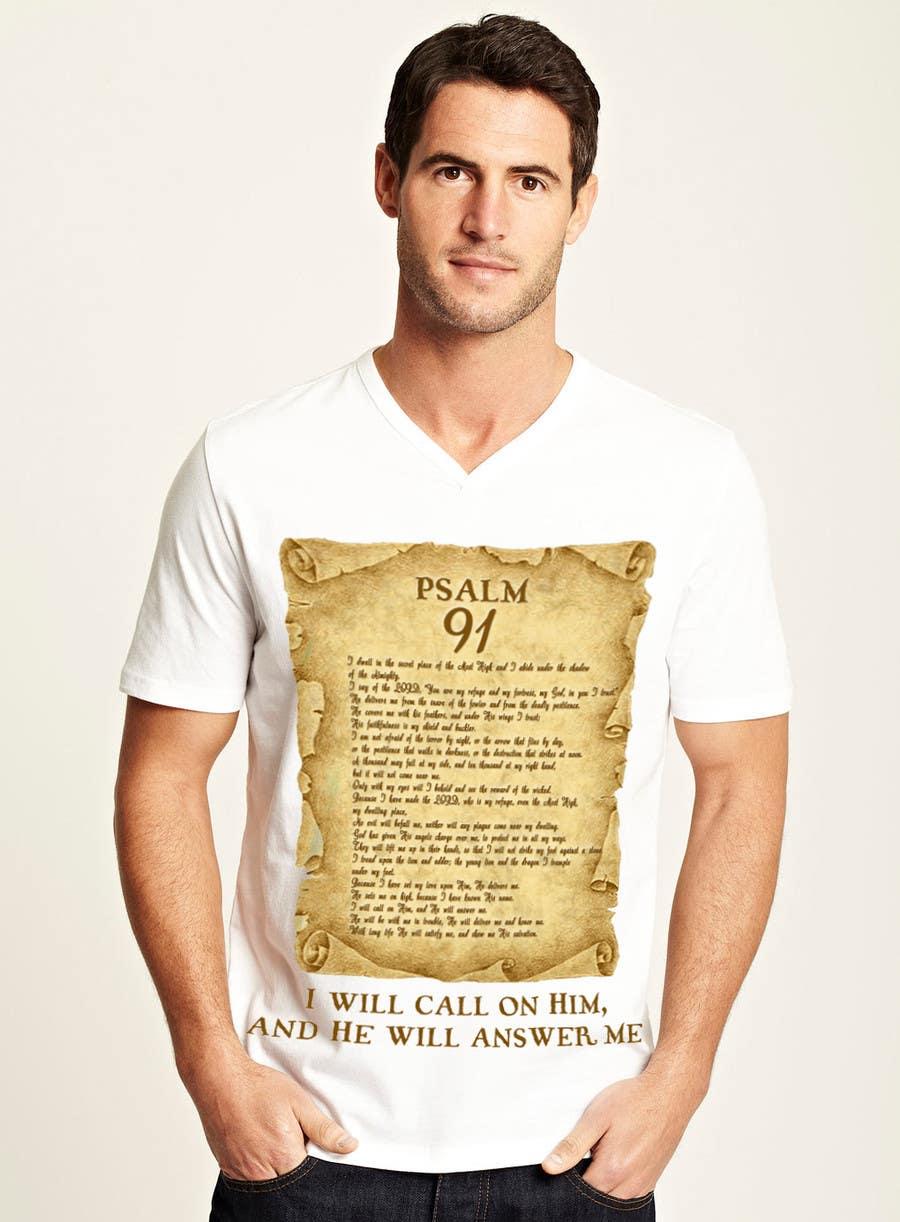 Konkurrenceindlæg #                                        7                                      for                                         Design a T-Shirt for Christian T-shirt company