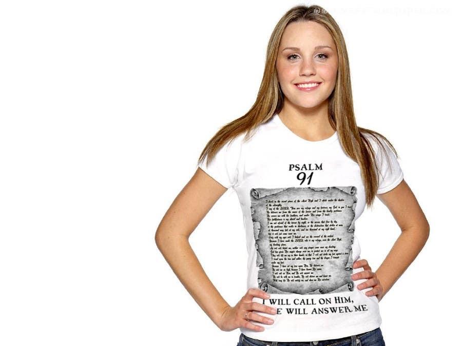 Konkurrenceindlæg #                                        8                                      for                                         Design a T-Shirt for Christian T-shirt company