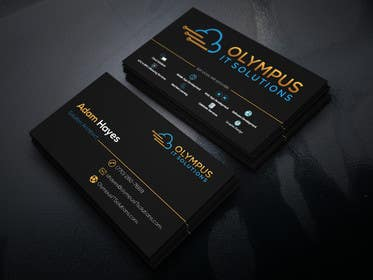 #86 for Design some Business Cards for an IT company af SHABBIRBAPPY