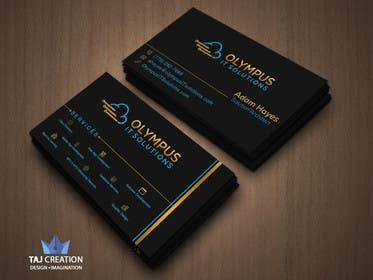 #146 for Design some Business Cards for an IT company af tajcreation