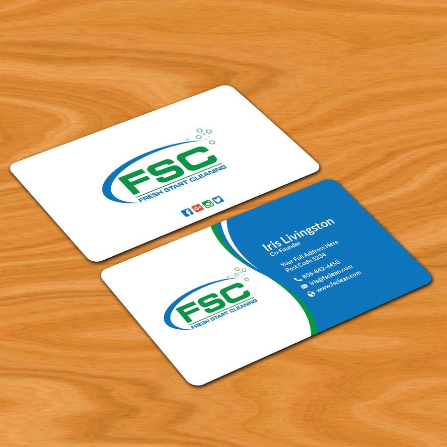 Entry #24 by patitbiswas for Design some Business Cards FSC | Freelancer