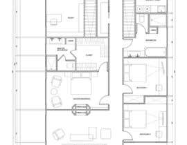 mishineva tarafından Floor Plan Redesign for 2 Rooms için no 31