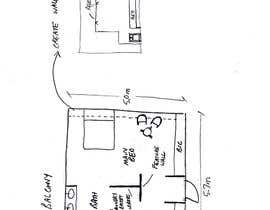 tsalamon tarafından Floor Plan Redesign for 2 Rooms için no 19