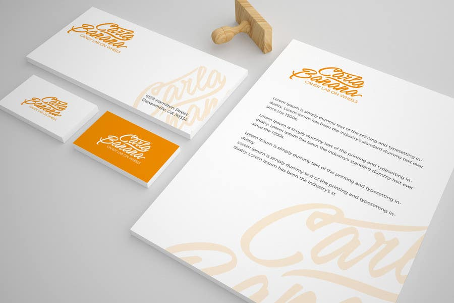 Entry #107 by brandingface for Calligraphy Logo for Candy Shop ...