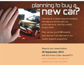 #5 for Flyer Design for Carmony af roopfargraphics
