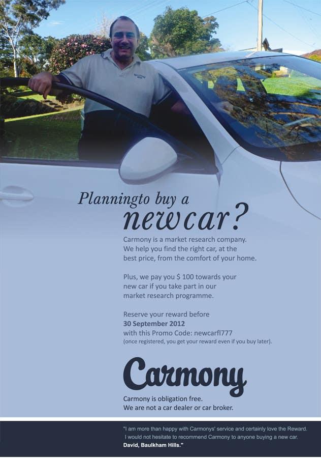 Penyertaan Peraduan #4 untuk Flyer Design for Carmony