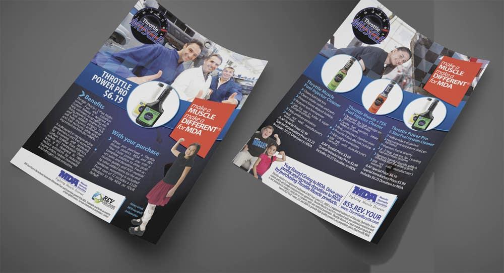 Inscrição nº                                         41                                      do Concurso para                                         Brochure Design for Throttle Muscle
