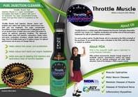 Graphic Design Inscrição do Concurso Nº10 para Brochure Design for Throttle Muscle