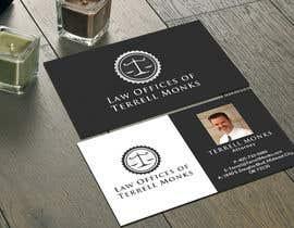 #52 cho Design Business Cards for a Law Office bởi SarahDar