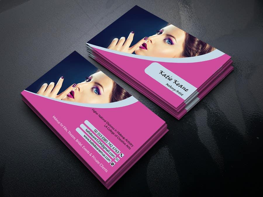 Entry 32 By Rifatjishan For Makeup Artist Business Cards Freelancer