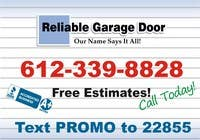 Contest Entry #43 for Graphic Design for Reliable Garage Door