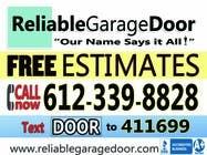 Graphic Design Kilpailutyö #114 kilpailuun Graphic Design for Reliable Garage Door
