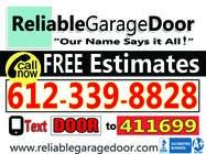 Graphic Design Kilpailutyö #136 kilpailuun Graphic Design for Reliable Garage Door