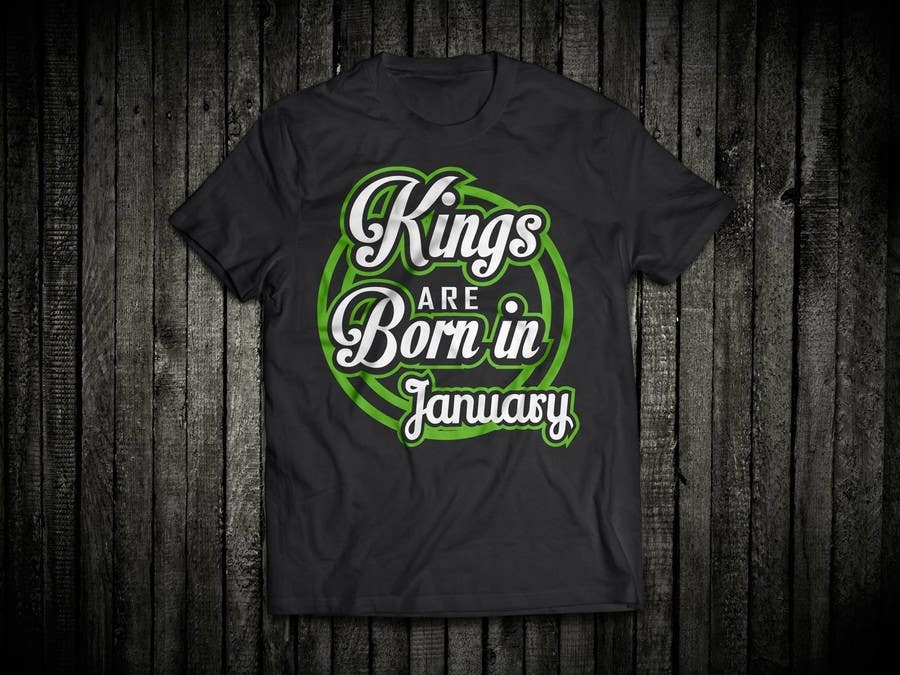 Contest Entry 43 For Design A T Shirt My Birthday Month