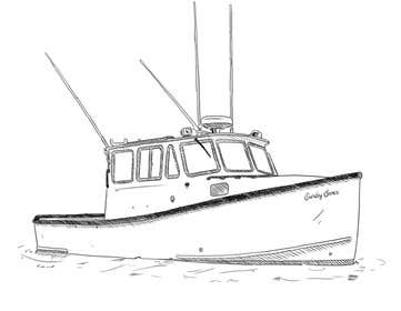 Image of                             Boat Drawing