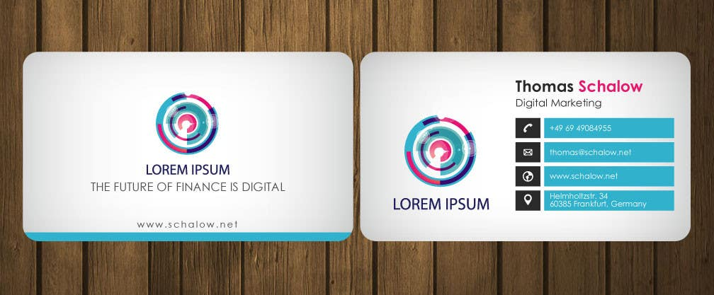 Entry 41 By Petersamajay For Business Card For A Digital Marketing