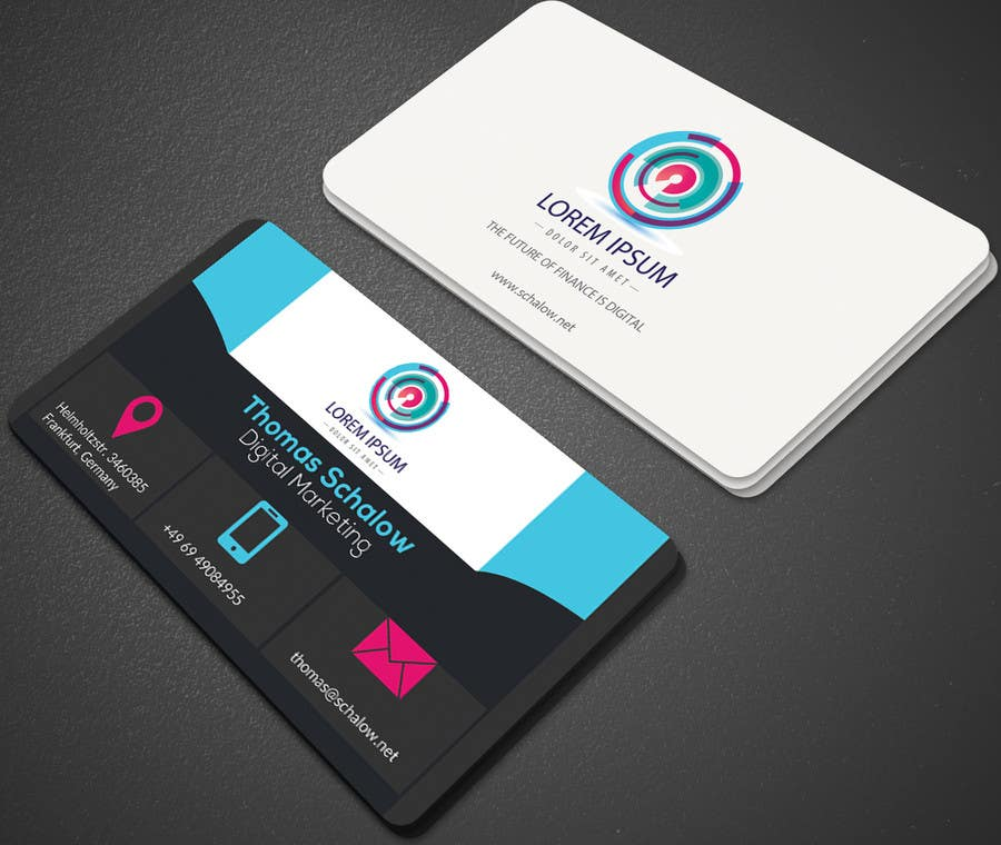 Entry 48 By Mehfuz780 For Business Card For A Digital Marketing